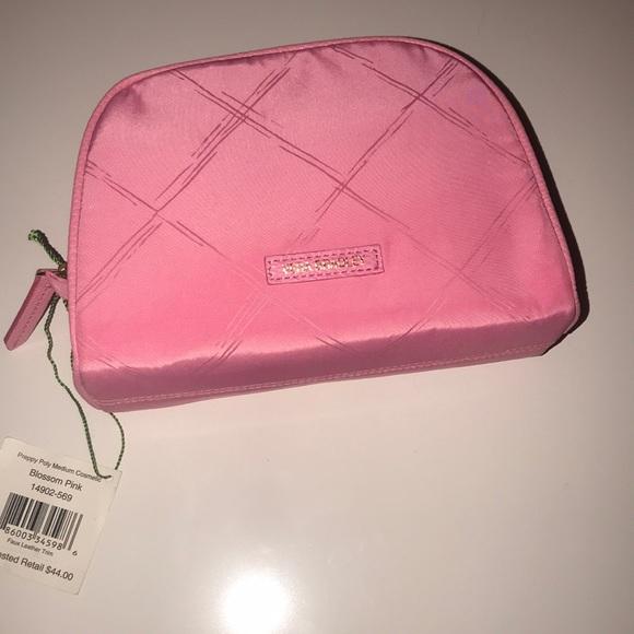 ae2541923c Vera Bradley Preppy Poly Medium Cosmetic Bag